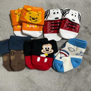 Disney - 美品 ディズニー ベビー靴下 新生児