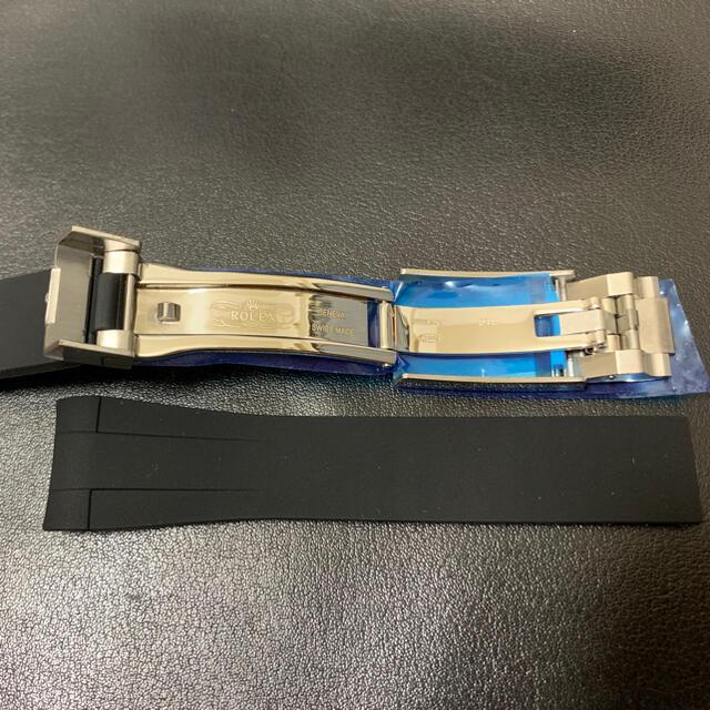ROLEX(ロレックス)のロレックス専用 ラバーベルト 20mm  メンズの時計(ラバーベルト)の商品写真