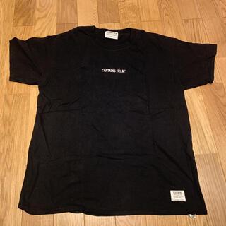 スタンダードカリフォルニア(STANDARD CALIFORNIA)のCAPTAINS HELM キャプテンズヘルム 刺繍ロゴ Tシャツ L(Tシャツ/カットソー(半袖/袖なし))