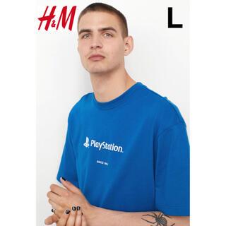 エイチアンドエム(H&M)の新品 安値 H&M × PlayStation オーバーサイズ Tシャツ L(Tシャツ/カットソー(半袖/袖なし))