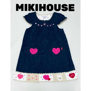 mikihouse - ミキハウス MIKIHOUSE ワンピース ジャンパースカート 美品 100