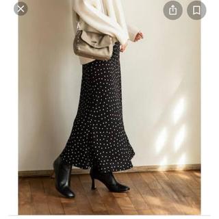 Noble - ◆ ◆クリーニング済み◆ ◆20◆一度着用◆Noble◆ドットマーメイドスカート