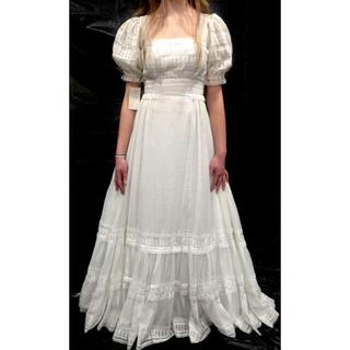 EDIT.FOR LULU - アンティーク パフスリーブウェディングドレス