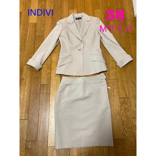 THE SUIT COMPANY - INDIVI  スーツ ベージュ 38 Mサイズ
