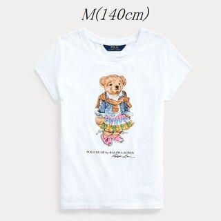 ポロラルフローレン(POLO RALPH LAUREN)のRalph Lauren マドラス ベア Tシャツ ガールズM 140(Tシャツ/カットソー)