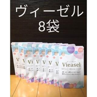 Vieasel mctオイル 亜麻仁脂 スピルリナ ヴィーゼル8袋セット(ダイエット食品)