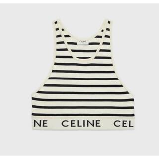celine - 新品 タグ付きセリーヌ ボーダータンクトップ