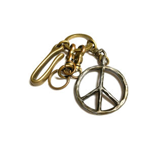 TODAYFUL - 203jewelry キーホルダー キーリング ピースマーク