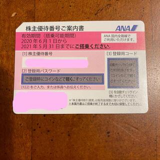 エーエヌエー(ゼンニッポンクウユ)(ANA(全日本空輸))のANA株主優待券1枚 5月31日から11月30日まで延長(その他)
