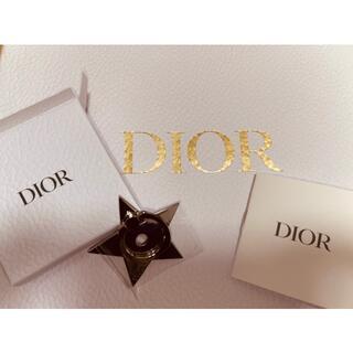 ディオール(Dior)の値下げ⭐︎新品未使用⭐︎Dior シルバーリングホルダー(キーホルダー)