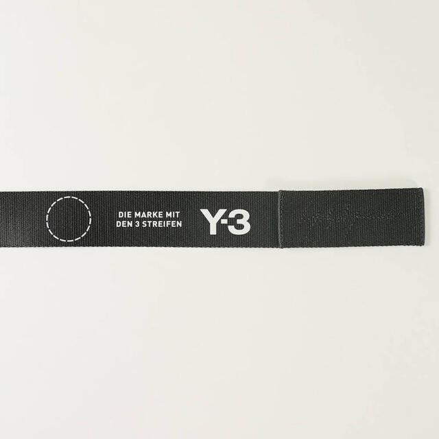 Y-3(ワイスリー)のY-3 STREET BELT(BLACK)  [DQ0618] ベルト メンズのファッション小物(ベルト)の商品写真