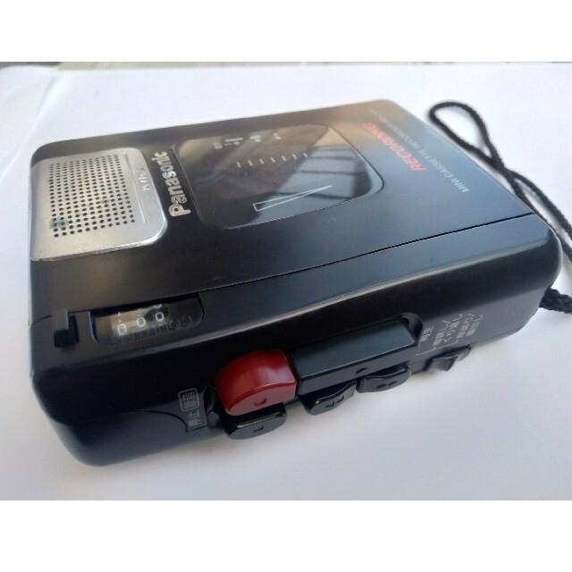 Panasonic(パナソニック)のPanasonic カセットテープ録音機 スマホ/家電/カメラのオーディオ機器(ポータブルプレーヤー)の商品写真