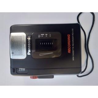 Panasonic - Panasonic カセットテープ録音機