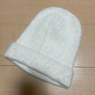 ウィゴー(WEGO)のWEGO ニット帽 ニットキャップ 美品(ニット帽/ビーニー)