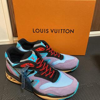 LOUIS VUITTON - 美品 ルイヴィトン  トレイルラインスニーカー 7.5