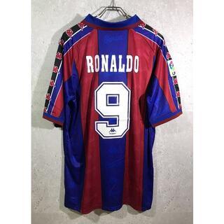 Kappa - FCバルセロナ 96/97 ロナウド ホーム ユニフォーム