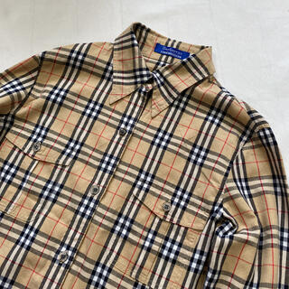 BURBERRY BLUE LABEL - BURBERRY ノバチェック シャツ