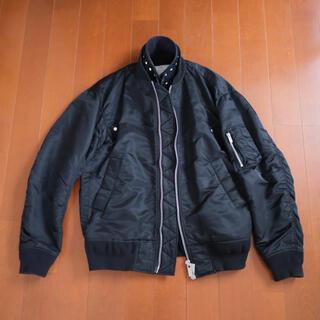 sacai - sacai サカイ ma-1 ブルゾン レイヤード サイズ2 ブラック