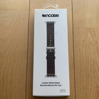 Apple Watch - 未使用 incase Apple Watch 用 レザーバンド 42/44mm
