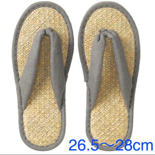 ムジルシリョウヒン(MUJI (無印良品))の無印良品 『マライ草  サンダル(XLサイズ・26.5〜28cm)』(サンダル)