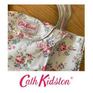 キャスキッドソン(Cath Kidston)のキャスキッドソン フォルダウェイトート 折りたたみエコバッグ 新品 花柄 (エコバッグ)
