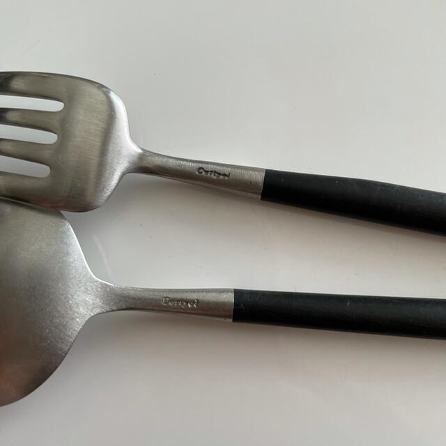 iittala(イッタラ)の正規品 クチポール Cutipol デザートセット GOA ゴア インテリア/住まい/日用品のキッチン/食器(カトラリー/箸)の商品写真