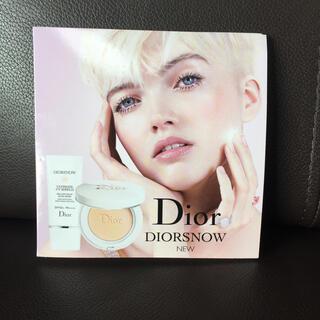 ディオール(Dior)のDior  ディオールスノー   サンプル(日焼け止め/サンオイル)