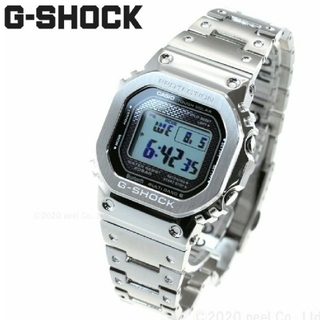 G-SHOCK - G-SHOCK フルメタル シルバー 木村拓哉 GMW-B5000D-1JF
