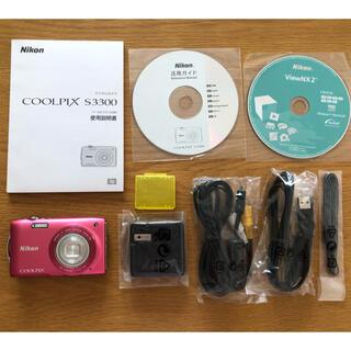 Nikon - あずき様専用 デジカメ Nikon COOLPIX  S3300
