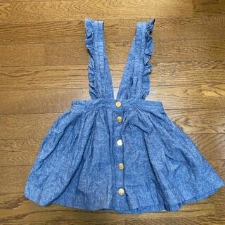 kate spade new york - ケイトスペード サロペットスカート