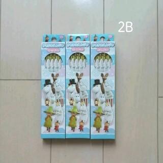 ショウワノート(ショウワノート)のムーミン 2B鉛筆 3ダース 女の子 男の子 キッズ キャラクター 文具(鉛筆)