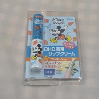 ディーエイチシー(DHC)の【未開封】DHC薬用リップクリーム1.5g(ミッキーデザイン)(リップケア/リップクリーム)