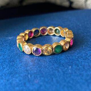 アッシュペーフランス(H.P.FRANCE)のアッシュペー H.P.FRANCE 水金 Jaipur 7 color ring(リング(指輪))