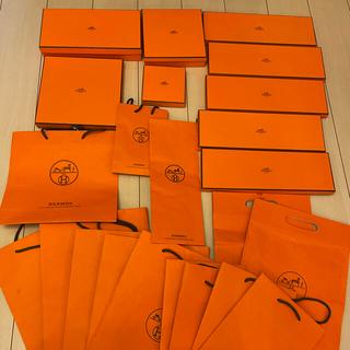 エルメス(Hermes)のエルメス HERMES  ショップ袋 箱 セット 23個(ショップ袋)