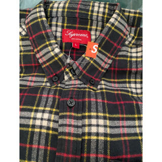 Supreme - supreme  tartan flannel shirt Large