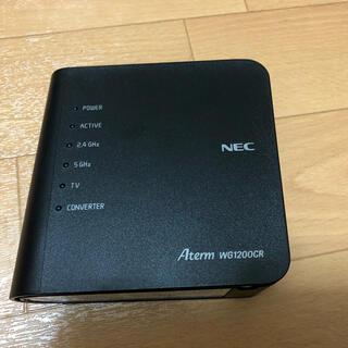 NEC - NEC 無線LAN Wi-Fi ルーター PA-WG1200CR