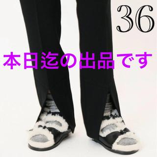 DEUXIEME CLASSE - 【FUR DELUXE/ファーデラックス 】ファーサンダル 金子綾