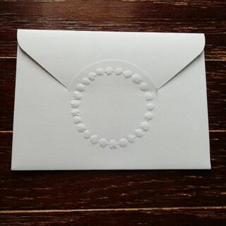 ミナペルホネン(mina perhonen)の⭐ミナペルホネン タンバリンのミニ封筒3枚 tambourine 非売品(その他)