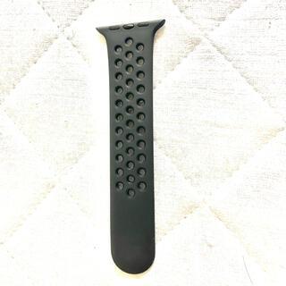 Apple - アップルウォッチ ナイキ NIKE バンド S/M 42 44 純正 ブラック