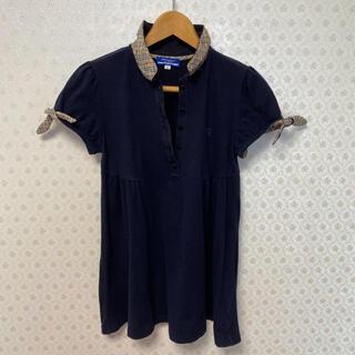 バーバリーブルーレーベル(BURBERRY BLUE LABEL)の♦️バーバリーブルーベリー♦️レディース♦️半袖ポロシャツ(ポロシャツ)