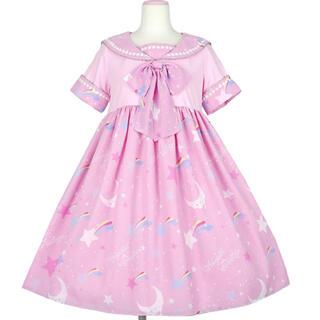 Angelic Pretty - ドリームスカイ カットワンピース ピンク