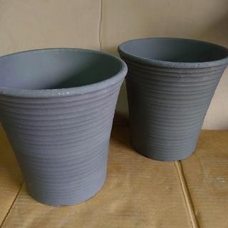 8号 素焼き鉢  2個セット  テラコッタ(プランター)