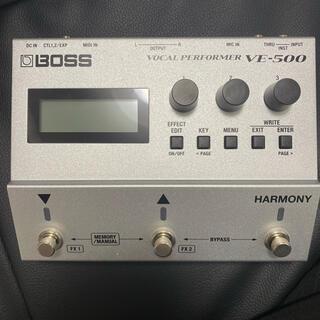 BOSS VE-500 ボーカルエフェクター