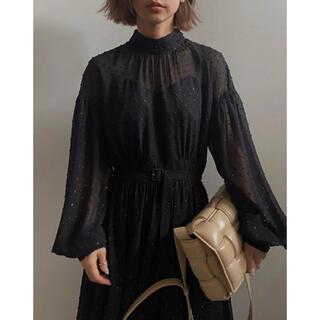 Ameri VINTAGE - Ameri UNDRESSD DOT SPARKLY DRESS