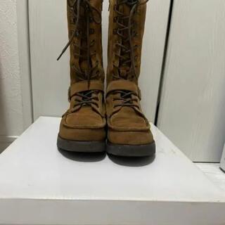 アシナガオジサン(あしながおじさん)のあしながおじさん ブーツ ブラウン 23cm(ブーツ)