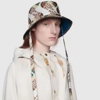 グッチ(Gucci)のGUCCI×ノースフェイス コラボ リバーシブル ナイロンハット(ハット)