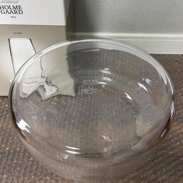 【新品】ホルムガード フローラ ベース 24cm ロング クリア インテリア/住まい/日用品のインテリア小物(花瓶)の商品写真