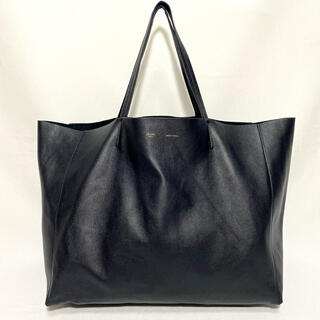 celine - 美品 セリーヌ ホリゾンタルカバ トートバッグ ブラック 旧ロゴ フィービー