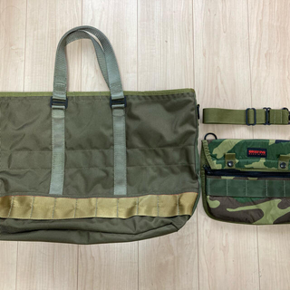 BRIEFING - ブリーフィング×ビームスプラス MIL TRAINING TOTE