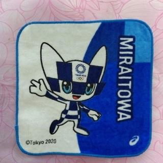アシックス(asics)の東京オリンピック ミニタオル マスコット ミライトワ ソメイティ 野球 サッカー(キャラクターグッズ)